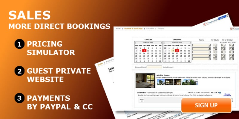 Hotel Software - Hotel Bookings