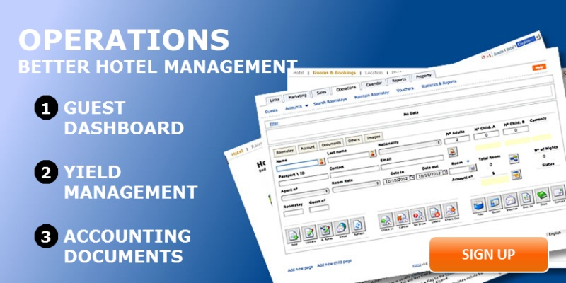 Hotel Management System - Hotel Management Operations