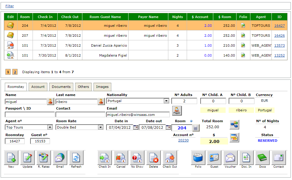 Click to view Hotel Management System screenshots